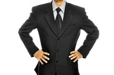 Free Black Business Suit Royalty Free Stock Photos - 26528038
