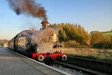 Golden Age Of Steam Royalty Free Stock Photography