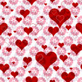 Free Seamless Valentine Pattern Royalty Free Stock Images - 26533359