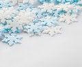 Free Snowflakes Decoration Macro Stock Image - 26534891