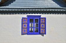 Free Old Blue Window Stock Image - 26530121
