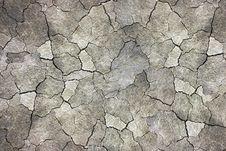 Free Dry Land Texture Stock Image - 26530271
