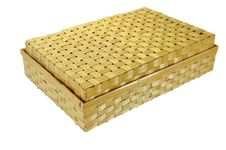Free Bamboo Basket Royalty Free Stock Image - 26530526