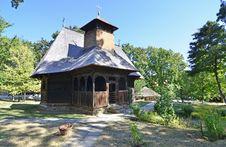 Wooden Church Rural Stock Photos