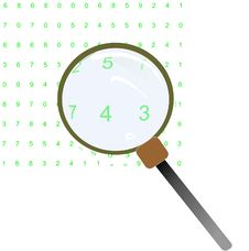 Free Magnifying Glass Royalty Free Stock Image - 26537366