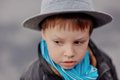 Free The Boy In A Hat Stock Photos - 26546643