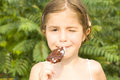 Free Child Eating Ice Cream Stock Photos - 26546693