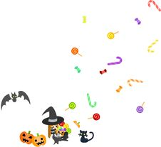 Free A Sweets-box Of Halloween Stock Photography - 26542562