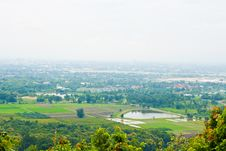 View Point Of Thailand Stock Photo