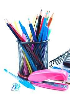 Free School Supplies Royalty Free Stock Photography - 26546867