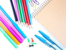 Free School Supplies Royalty Free Stock Photo - 26546875