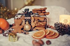 Free Christmas Cookies Royalty Free Stock Photos - 26546918