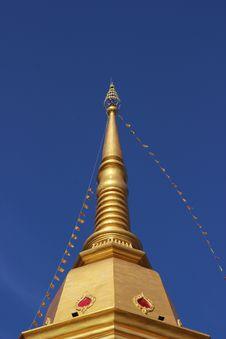 Free Pagoda At Naka Temple, Phuket Stock Photo - 26549050