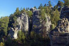 Free Prachov Rocks Stock Photos - 26549693