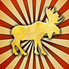 Free Starburst Moose Stock Image - 26549791