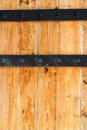 Free Wooden Door And Metal Hinge Royalty Free Stock Photos - 26552078