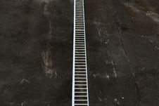Ladder To Nowhere Royalty Free Stock Photography