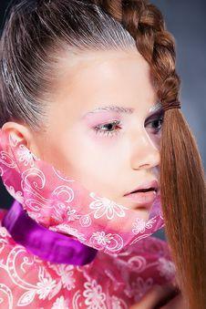 Free Natural Beauty - Fashion Woman Face, Bright Makeup Stock Photos - 26556193