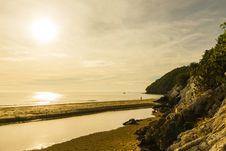 Free Sunrise On The Beach Stock Image - 26559141