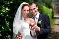 Free Beauty Bride And Groom On Wedding Walk Royalty Free Stock Images - 26560479