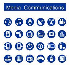 Free Media Communications Royalty Free Stock Image - 26561566