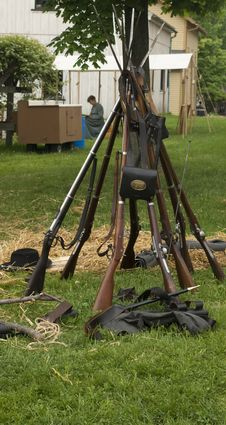 Free Civil War Weapons Stock Image - 26564741