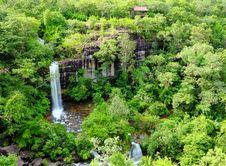 Free Soei Sawan Waterfall. Royalty Free Stock Photos - 26565698