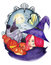 Free Witch Of Halloween &x28;watercolor&x29; Royalty Free Stock Photography - 26568867