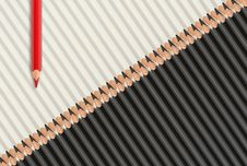 Free Pencils Background Royalty Free Stock Image - 26570226