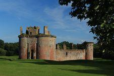Free Caerlaverock Castle Stock Image - 26571101