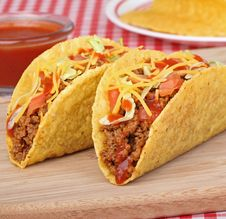 Free Beef Tacos Stock Photos - 26571613