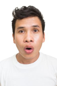 Free Asian Man Face Expressions Royalty Free Stock Photography - 26573497
