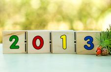 Free Happy New Year 2013 Royalty Free Stock Photos - 26578528