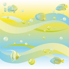 Free Fishes Royalty Free Stock Image - 26579496