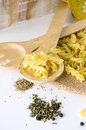 Free Pasta On Spoon Royalty Free Stock Image - 26584116