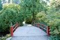 Free Red Bridge Path Royalty Free Stock Photography - 26584477
