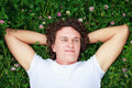 Free A Young Man Among Meadows. Royalty Free Stock Photo - 26584965