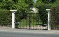 Free Beautiful Gate, Entrance To A Front Yard Royalty Free Stock Image - 26589506