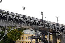 Free Bridge In Moscow 2 Royalty Free Stock Photo - 26580855