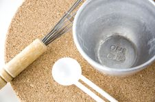 Free Measuring One Cup Royalty Free Stock Image - 26584016