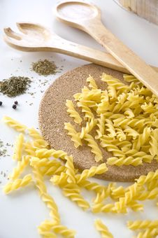 Free Pasta Uncooked Royalty Free Stock Photos - 26584128