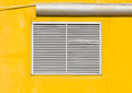 Free Air Vent On Yellow Wall Stock Photography - 26590742
