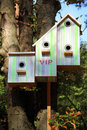 Free Respectable Birdhouse Royalty Free Stock Photography - 26591147