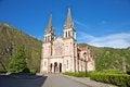 Free Facade Of Covadonga Basilica Stock Photography - 26591552