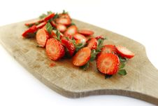 Free Strawberries Residues Stock Photos - 26590073