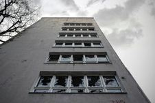 Brick House In Berlin, Germany. Royalty Free Stock Photos