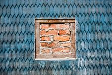 Free Wooden Wall Stock Photography - 26591042