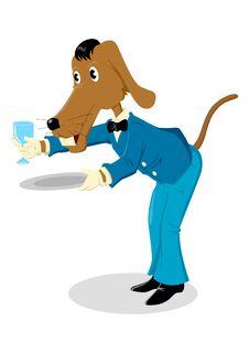 Free Waiter Royalty Free Stock Image - 26593366