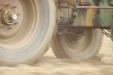 Free Wheel From Tractor Stock Photo - 26594450