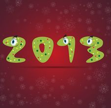 Free New Year Snake Gift Card Background Stock Photo - 26595460
